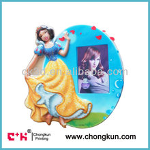 High quality cartoon PVC blister photo frame for 3D lenticular products