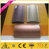 Wow!! tube aluminium outdoor furniture purpose factory supplier, anodize black brushed aluminium tube, tube aluminium hair color
