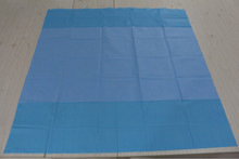 disposable single use custom blue table cover medical