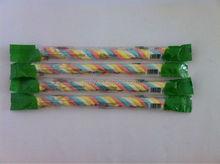 Halal Colorful Long Twist Marshmallow