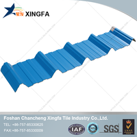 Manufacturer supply anti-corrosion and heat insulation high wave PVC roof tile/ roofing sheet