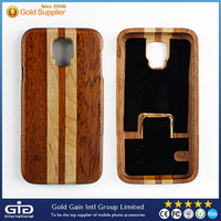 Hard wood phone case for Samsung S5,for galaxy S5 wood cover case