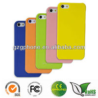 2013 rubber case for Apple iphone 5