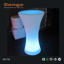 Best sale!!! High Top LED Bistro Table multi use Party Table
