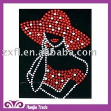 Custom Rhinestone Transfer in Characters Portrait Design For Apperal