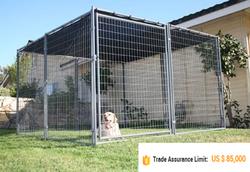 galvanized large Dog Crate, Commerical Dog Crate,Dog House