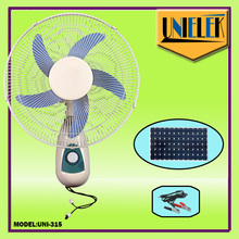 Israel oscillating 12v cooling fan price CE/CB certification best wall fan power consumption