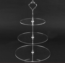 Morden 3 Tier Acrylic Round Cupcake Stand/Birthday Wedding Party cupcake stand