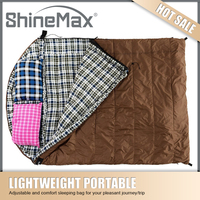 Special Heated Double Sleeping Bag for Camping