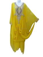 Islamic Bridal Wedding Gown Custom Heavy Beading Islam new arabic popular design islamic morroccan jilbab designer kaftan k6240