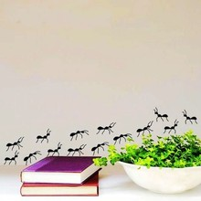 New arrival Group Ants Pattern Vinyl Removable Wall Sticker Home wall Decor