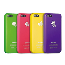 Special discount promotion Ozaki fruit color phone case for iPhone 5