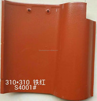 China cheap glazed spanish clay roof tiles