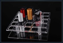 Clear Makeup Cosmetic Storage Box Acrylic Case Stand