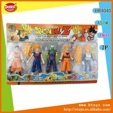 5PCS Dragon Ball Z Action Figure Toy
