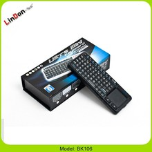 Portable Mobile Mini Wireless Keyboard With Touchpad keypad innovative products made in china 2015