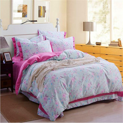 nice quality handmade cotton china suppliers printed linen quilt Chinese product s bed sheet