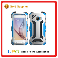 [UPO]Fashion Luxury Aluminium Metal Frame Bumper Back Cover Case For Samsung Galaxy S6 edge