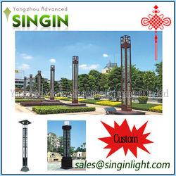 4-8m Green LED Park Garden Public Places led light for garden