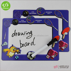China wholesale high quality children fridge magnet toy/ magnet writing board