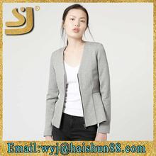 Unique 100% wool felt calf girls jacket
