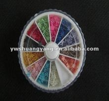 Wholesale flower abs pearl beads fit nail art decoration!