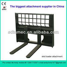 skid loader attachment pallet fork (skid loader attachment,bobcat attachment,attachment)