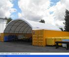 Cúpula construção de armazenamento de tecido recipiente abrigo carro garagem tecido estrutura