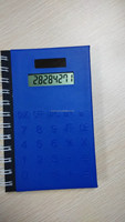 Hairong A5 pocket calculator with colorful notebook desktop calculator