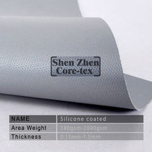 silicone coated glass fiber fabric