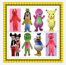 calidad superior de famosos personajes de dibujos animados disfraces