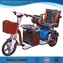 new passenger electirc dual rear wheel 3 wheel motorcycle