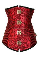 Women's Victorian Boned Underbust Corset