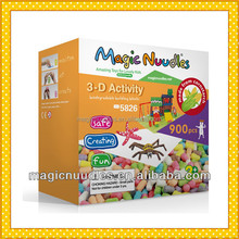 2015 Most Popular School Educational Toys Made In USA Magic Nuudles Environment Friendly
