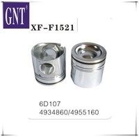 excavator engine piston for 4D107