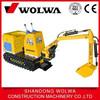 Wolwa brand hydraulic Amusement mini excavator for kids play price