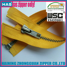 HAS zipper anti silver teeth good design OEM sample free zipper fancy