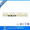Flexible Aluminum Trim/Movement Joint Profile for Tile