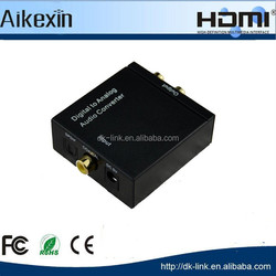 Digital Coaxial and Optical Toslink to Analog RCA Audio Converter