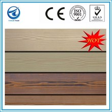 Wood Grain Fiber Cement Board,Wood Grain Cement Fibre Board,Wood Color Cement Board