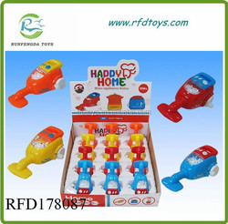 Hot sell wind up vacuum cleaner toys for promotions wind up toy