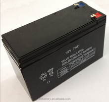 """""""Free Maintenance Valve ups battery 12V 7ah rechargeable lead acid battery used Emergence light and security system"""