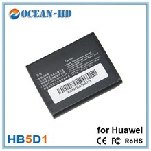 Super thin for Huawei HB5D1 replacement nimh battery pack 800mah