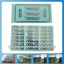Electroforming Nickel sticker for your own logo