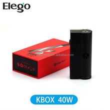 Kanger KBOX box mod 40W E Cig Mod Kanger K BOX 40W Mod vs iStick 30w iStick 50w