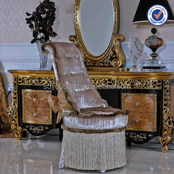 0061 luxury real estilo dubai diseño vanidad juego de dormitorio ...