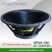 15,18,21 inch,,24'' big size speakers subwoofer with waterproof cone