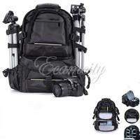 Thick High intense Waterproof Nylon Camera Bag DSLR SLR Shockproof Backpack Travel Bag For Canon For Nikon For Sony Rain cover