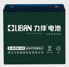 LIBAN Rechargeable Battery for E-bike/Scooter/Golf Cart 6-DZM-20