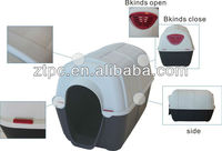 New style plastic pet kennel , pet cage , dog carrier